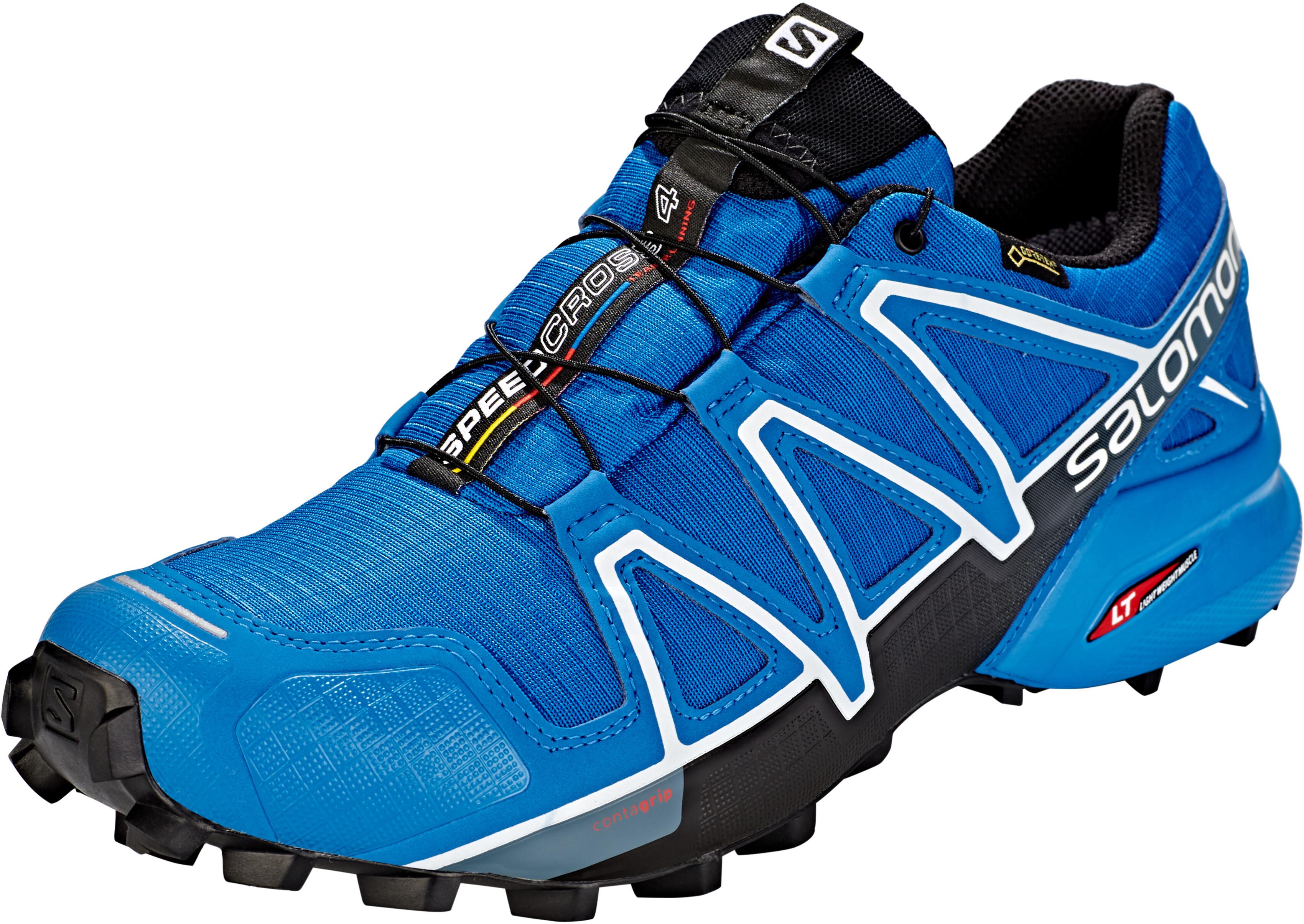 a348f5b5cfc Salomon Speedcross 4 GTX Shoes Men sky diver/indigo bunting/black at ...